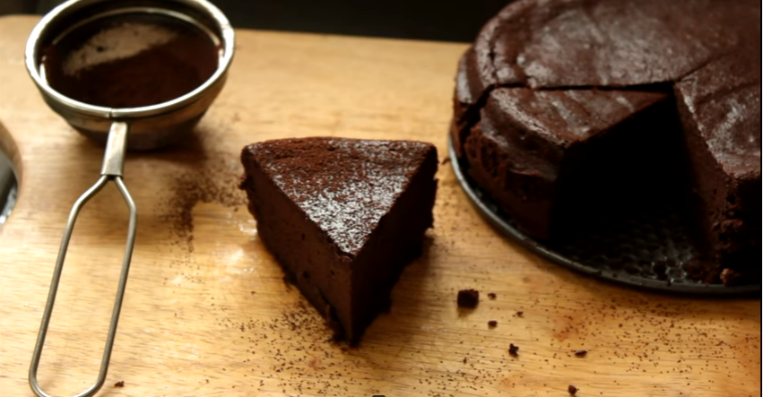 Receita de bolo de chocolate low carb