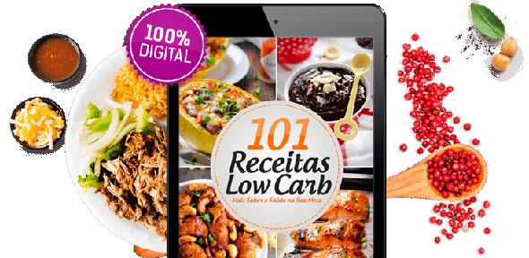 101 Receitas Low Carb Com Dicas Para Perder Peso