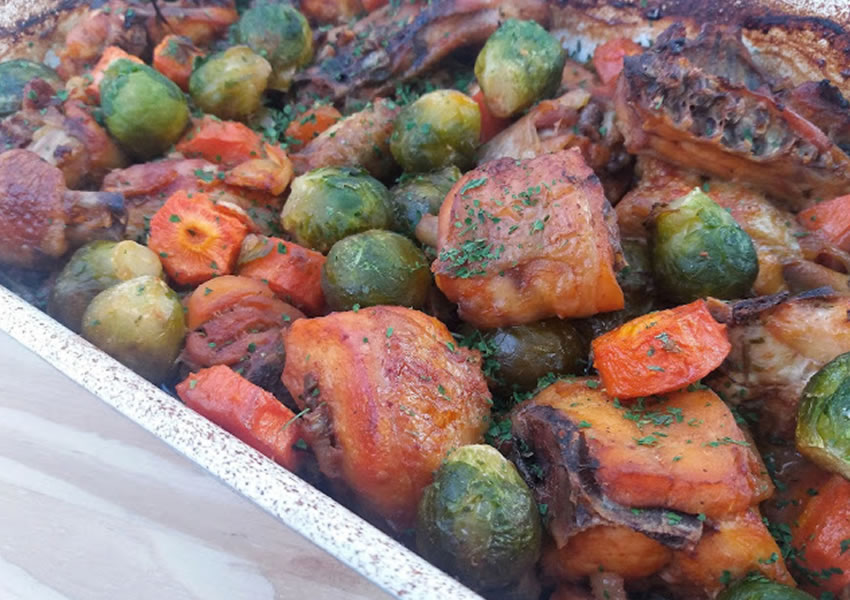 Receita frango ao forno low carb