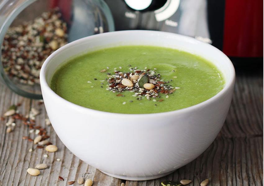 Receita Sopa de Brócolis Low Carb